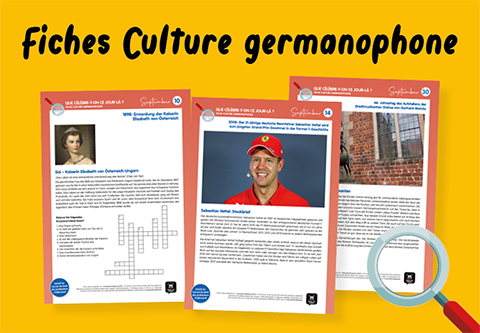 Fiches culture germanophone
